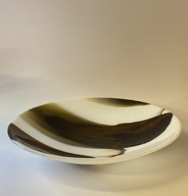 'frosty day' , glass bowl