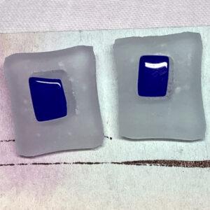 white-blue-glass-studs